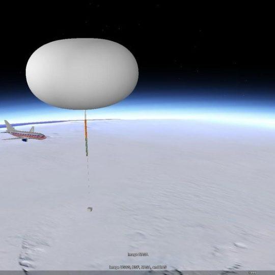 Aerostar's Super-Pressure Balloon Prototype over Antarctica